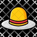 Ladies Hat Hat Floppy Hat Icon