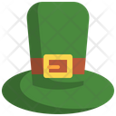 Hat Leprechaun St Patrick Day Icon
