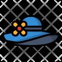 Beach Fashion Hat Icon