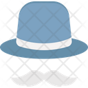 Costume Hat Hipster Icon