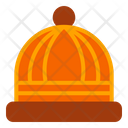 Beanie Hat Autumn Icon