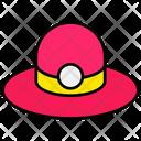 Summer Hat Floppy Hat Icon