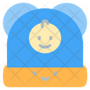 Hat Kid And Baby Winter Hat Icon