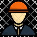 Hat Helmet Worker Icon