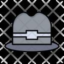 Hat Tourism Man Icon