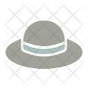 Hat Brim Summer Icon