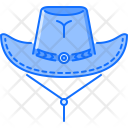 Hat Cowboy Wild Icon