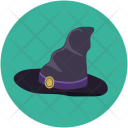 Hat Halloween Witch Icon