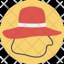 Hat Floppy Headwear Icon