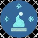 Hat Snow Flakes Icon