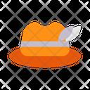 Autumn Fall Hat Icon