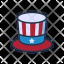Hat America Icon