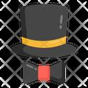 Apparel Hat Bow Bow Tie Icon