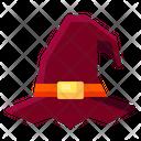 Hat Wizard Witch Sorcery Icon