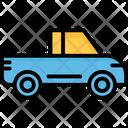 Hatchback Light Lorry Pick Up Icon
