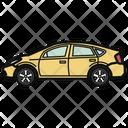 Auto Hatchback Car Icon