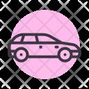 Hatchback Car Auto Icon
