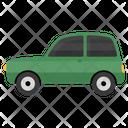 Mini Car Hatchback Transport Icon