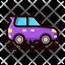 Hatchback Car Icon