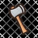 Hatchet Axe Tomahawk Icon