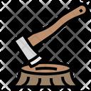 Hatchet Axe Carpenter Icon