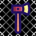 Hatchet Axe Chop Icon