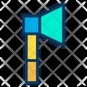Axe Tomahawk Carpenter Tool Icon