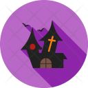 Haunted House Scary Icon