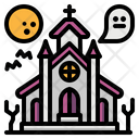 Haunted House Castle Icon