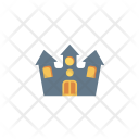 Haunted building Icon