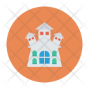Haunted House Building Icon