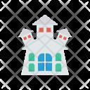 Haunted Building Estate Icon
