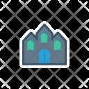 Building Church House Icon