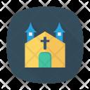 Haunted Building Church Icon