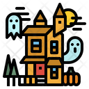 Castle Haunted House Icon