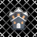 Castle Haunted Halloween Icon