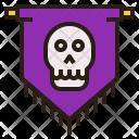 Haunted flag Icon
