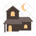 Haunted House Home Icon