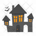 Haunted House Horror Icon