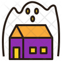 Ghost House Halloween Icon