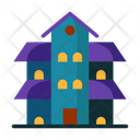 Haunted House Haunted Building House Icon