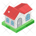 Haunted House Mansion House Haunted Building Icon