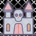 Haunted House Castle Dark Icon