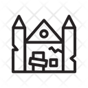 Haunted House House Spooky House Icon