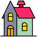 Halloween Horror House Icon