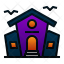 Haunted House House Building Icon