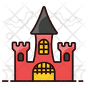Haunted House Ghost House Creepy House Icon