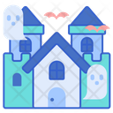 Haunted House Ghost House Haunted Mansion Icon