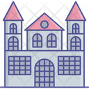 Abandoned House Spooky Home Ghost Home Icon