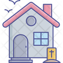 Haunted House Haunted Mansion Spooky House Icon